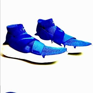 Just In NWT Nike Free Run Motion Fly Knit Blue '18
